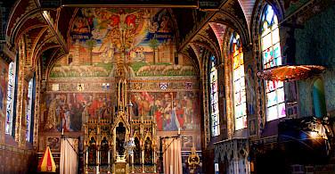 Cathedral in Bruges, Belgium. Photo via Flickr:Olivier Duquesne