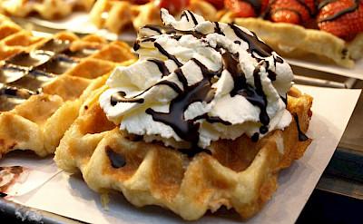 Belgian waffles of course! Flickr:BJCarter
