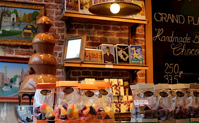 Chocolate Shop in Bruges, West Flanders, Belgium. Flickr:Jeff & Brian