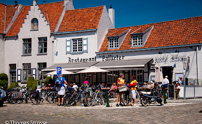 Bike rest in Damme, West Flanders, Belgium. Flickr:Thomas Strosse