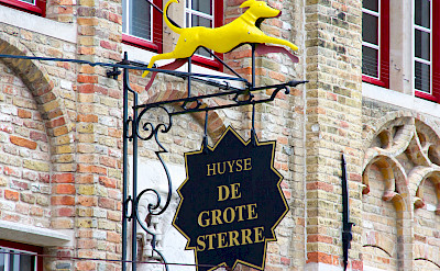 Bike rest in Damme, West Flanders, Belgium. Flickr:Daniel Nugent