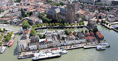Dordrecht in South Holland, the Netherlands. Photo via Wikimedia Commons:Joop van Houdt