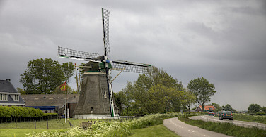 Windmill in Zeeland, the Netherlands. Photo via Flickr:Arcadius