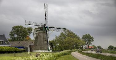 Windmill in Zeeland, the Netherlands. Photo via Flickr:Arcadius