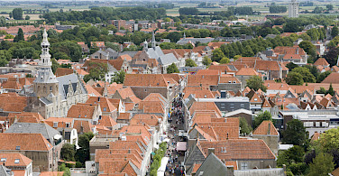 Off the bike and up the belfry in Zierikzee, Zeeland, Holland. Photo via Flickr:Jose Maria Barrera Cabanas
