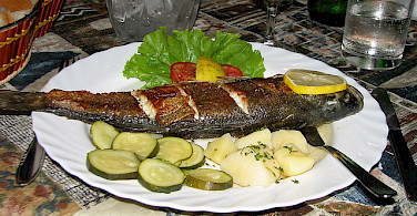 Fish for dinner of course! Photo via Flickr:NH53