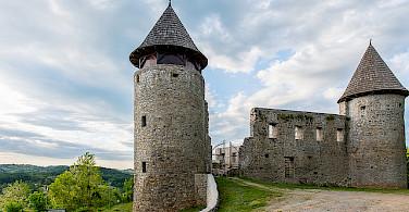 Ruins in Novigrad, Croatia. Photo via Flickr:Roman Avdagic