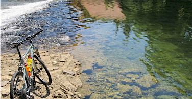 Korana River. Photo courtesy of Heart of Nature Rural Retreat in the Ribnik Valley.