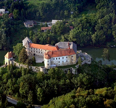 Fortified castle of Ozalj, Croatia. Photo courtesy of Hotel Korana