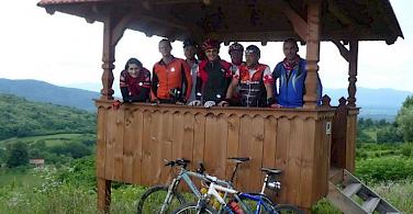 Croatian cycling camaraderie. Photo courtesy of Heart of Nature Rural Retreat.