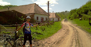 Lifestyle is more laid back in Saxonland, Romania. Photo courtesy of the tour operator.