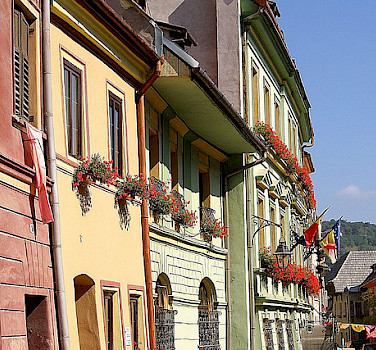 Sighisoara, Romania, a UNESCO World Heritage Site. Photo via Flickr:Guillaume Baviere