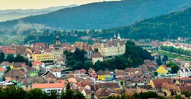Schäßburg Medieval Citadel in Sighisoara, Transylvania, Romania. Photo via Flickr:Andrew Colin