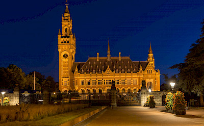 Rathaus in Den Haag on the North Sea in South Holland, the Netherlands. Flickr:Jiuguang Wang