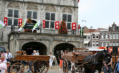 The famous <i>Kaasmarkt</i> in Gouda, South Holland, the Netherlands. Flickr:bertknottenbeld