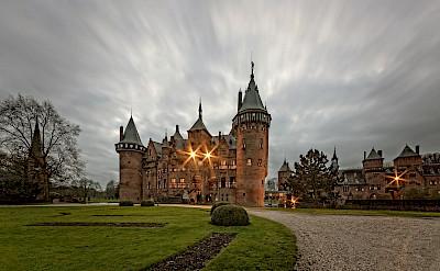 De Haar Castle in Utrecht, the Netherlands. ©Hollandfotograaf