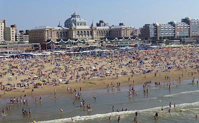 Beach in Scheveningen, South Holland, the Netherlands. Flickr:Aram Zucker-Scharff
