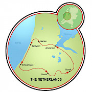 Villages & Beaches of Holland Map