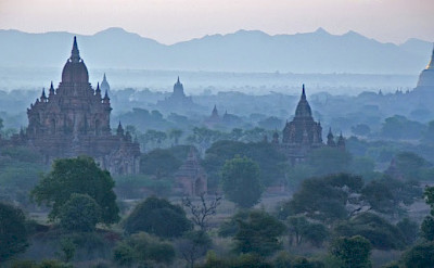 The many pagodas in Bagan, Myanmar. Photo by Tim Manning