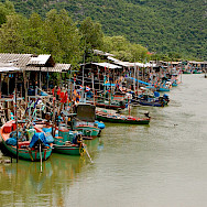 Fishing market in Hua Hin, Thailand. Photo via Flickr:Sam Sherratt