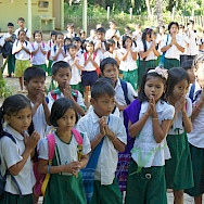 School kids in Ranong, Thailand. Photo via Flickr:Peace May Come To You