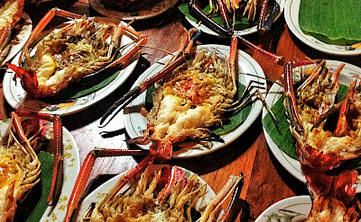 BBQ seafood for everyone in Thailand. Photo via Flickr:Vir Nakai