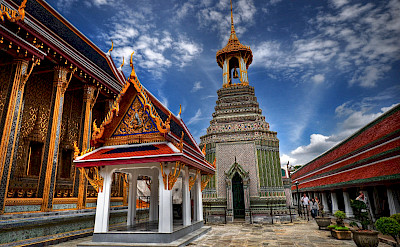 Old Grand Palace in Bangkok, Thailand. Photo via Flickr:Greg Knapp