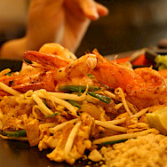 Yummy Thai food, the real stuff! Photo via Flickr:Joy Kong