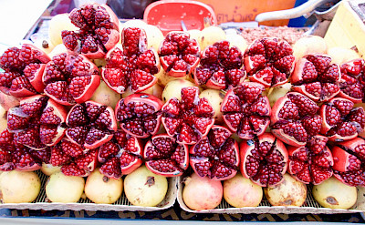 Thai fruits for sale. Photo via Flickr:Werner Bayer