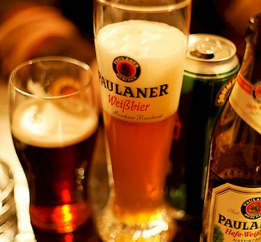 German beer, of course! Photo via Flickr:Daniel Panev