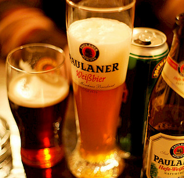 German beer, of course! So many varieties to try! Photo via Flickr:Daniel Panev