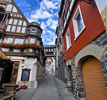 Rudesheim, a wine-making town and UNESCO World Heritage Site, in the Rheingau-Taunus-Kreis district of Germany. Photo via Flickr:skajalee