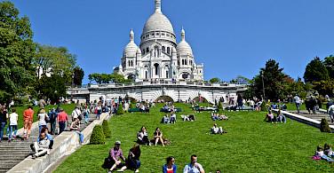Sacre Coeur in Paris. Photo via Flickr:David McSpadden