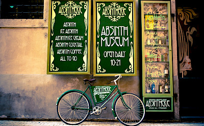 Absinth Museum in Prague, Czech Republic. Flickr:David Lohr Bueso