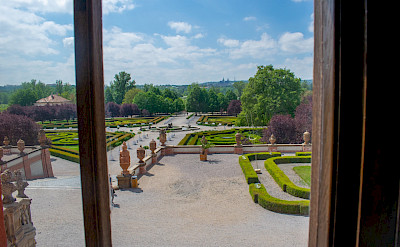 Gardens at the Baroque Palace in Troja, Czech Republic. Flickr:Andriana Alonso