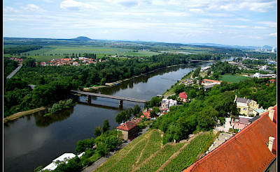 Mělník at the confluence of Labe & Vltava Rivers in Czech Republic. Flickr:Ondrej Pospisil
