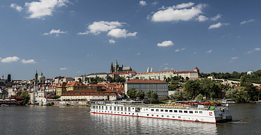 MS Florentina on the Vltava River, Czech Republic. Photo via Tour Operator
