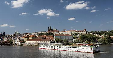 MS Florentina on the Vltava River, Czech Republic. Photo via Tour Operator