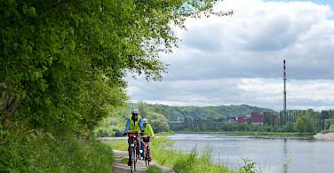 Cycling the Prague, Czech Republic Bike Tour. Photo via Tour Operator