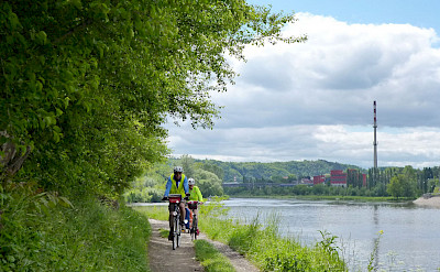 Cycling the Prague, Czech Republic Bike Tour. Photo via TO