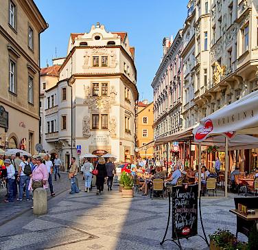 Bike rest in Prague, Czech Republic. Photo via Flickr:Pedro Szekely