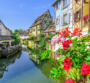 Colmar along the Alsace Wine Route, France. Photo via Flickr:Xiyang Xing