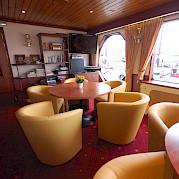 Lounge - MS Andante | Bike & Boat Tours
