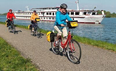 Bikers | MS Normandie | Bike & Boat Tours