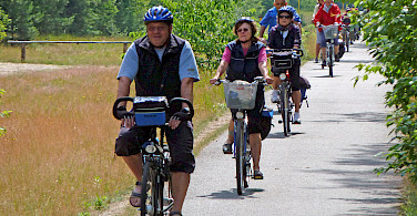 Berlin to Stralsund Bike Tour riders. Photo via Tour Operator