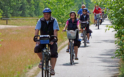 Berlin to Stralsund Bike Tour riders. Photo via Tour Operator