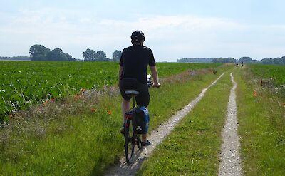 Scenic biking from Berlin to Stralsund in Germany. ©TO
