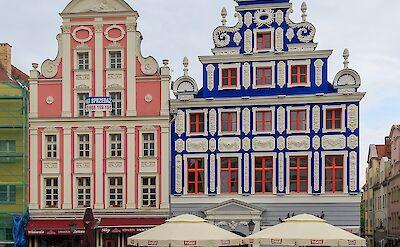 Rynek Sienny (Hay Market Square) in Szczecin, Poland. CC:A.Savin
