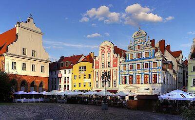 Stare Miasto in Szczecin, Poland. CC:Stasio Stachow