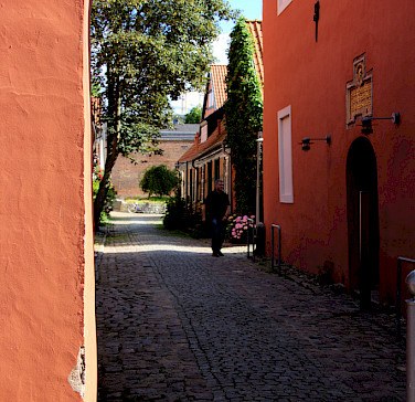 Biking through Stalsund, Germany. Photo via Flickr:michael.berlin